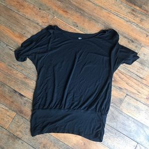 Mossimo Large Shoulder Cut out Tee